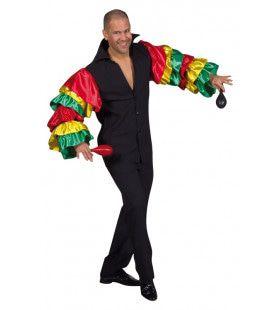 Losse Heupen Samba Shirt Man