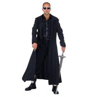 Zwarte Mantel Matrix Filmheld