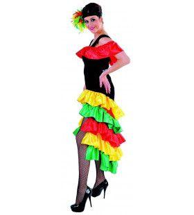 Trots Van De Favela Rio Carnaval Vrouw Kostuum