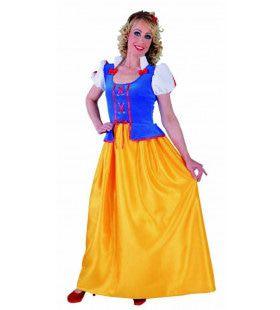 Magische Sprookjesprinses Sneeuwwitje Vrouw Kostuum