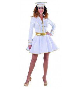 Loveboat Cruiseschip Kapitein Lucy Vrouw Kostuum