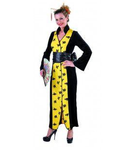 Chinese Kimono Huanghe Vrouw Kostuum