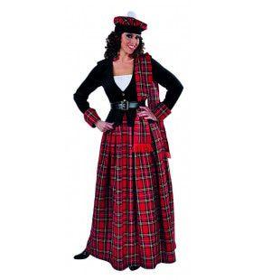 Fiona Mc Flirty Schots Hoogland Vrouw Kostuum