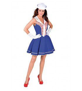Meisje Loos Matroos Marine Vrouw Kostuum