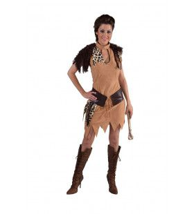 Hunebed Neanderthaler Oermens Vrouw Kostuum