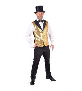 Vest Showman Theater Gouden Pailletten