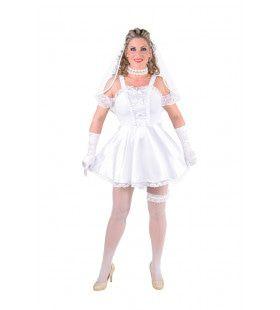 Dag Van Je Leven Bruid Vrouw Kostuum