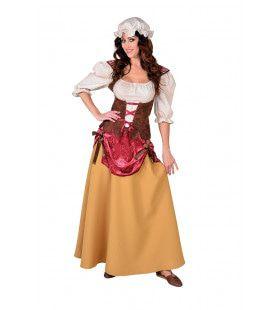 Dienstmeid Middeleeuwen Marieke Vrouw Kostuum