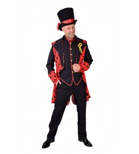 Lieveheersbeestje Rood Zwarte Kever Slipjas En Vest Man