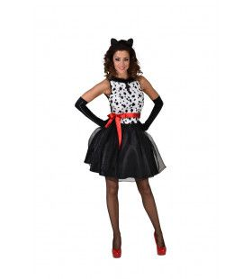 101 Dalmatier Disney Hond Vrouw Kostuum
