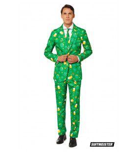 St. Patrick Day Symbolen Man Kostuum