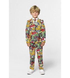 Hippe Street Wise Stijl Jongen Kostuum