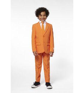 Oranje Hoog In Het Vaandel Jongen Kostuum