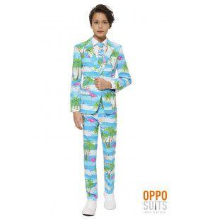 Tropisch Flaminguy Tiener Jongen Kostuum