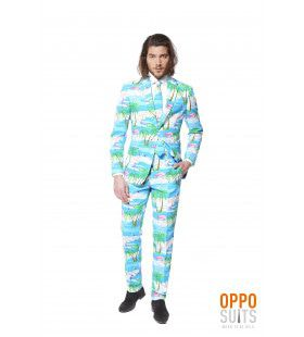 Miami Flaminguy Opposuits Man Kostuum