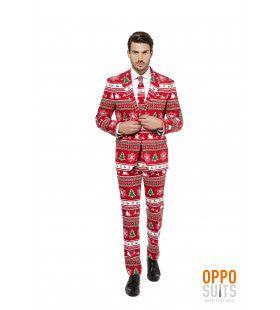 Lekker Foute Winter Wonderland Opposuit Man Kostuum