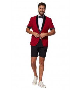 Perfect Peony Rose Short Opposuit Man Kostuum