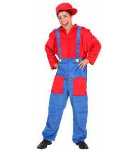Alternatieve Game Loodgieter Jongen Kostuum