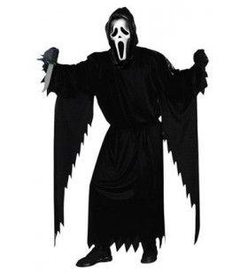 Scream Kostuum Met Masker Man