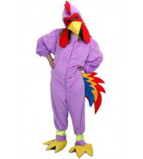 Fantasie Kip Overall Pluche Kostuum