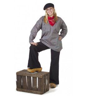 Antiek Boerenkiel Keper Meisje Kostuum