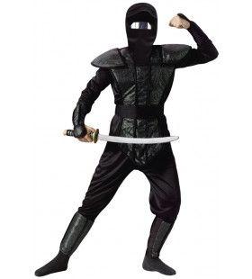 Strijdbare Futuristische Ninja Man Kostuum