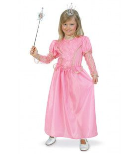 Prinses Rosa Sprookjes Meisje Kostuum