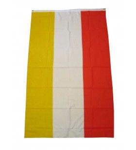 Vlag Rood Wit Geel Oeteldonk 90x150 Centimeter