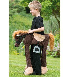 Rijden Op Een Pony Kind Kostuum