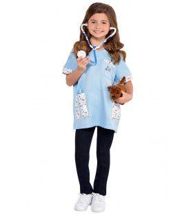 Verkleedset Dierenarts 6 Delig Kind Kostuum