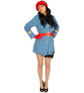Geheim Agente Kgb Rusland Vrouw Kostuum
