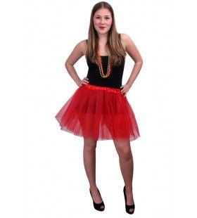 Tule Rok Ballet Rood Vrouw