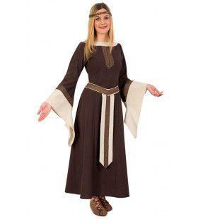 Middeleeuwse Edelvrouw Gunhilde Kostuum