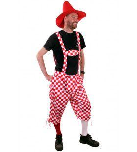 Tuinbroek Brabant Carnaval Man Kostuum