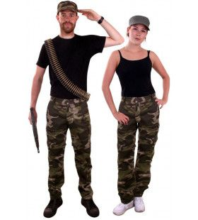 Camouflage Broek Oerwoud Commando