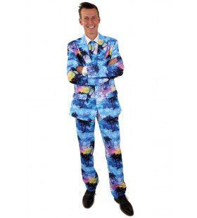 Dreadlock Holiday Tropische Vakantie Man Kostuum