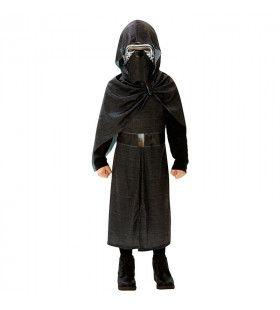 Kylo Ren Duistere Kant Star Wars Luxe Kind Kostuum