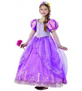 Beeldschoon Limited Edition Rapunzel Meisje Kostuum