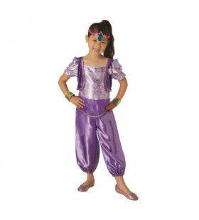 Glanzend Sjeherazade Jasmin Woestijn Prinses Meisje Kostuum