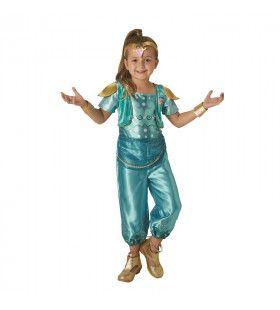 Glanzend Jasmine 1001 Nacht Meisje Kostuum