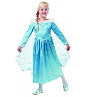 Elsa Olafs Frozen Avontuur Deluxe Disney Meisje Kostuum