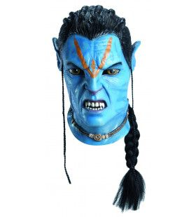 Avatar Jake Sully Latex Masker
