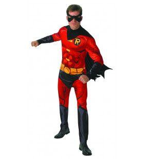 Robin Rechterhand Van Batman Superassistent Kostuum