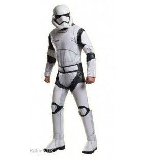 Keizerlijke Stormtrooper Elite Soldaat Man Kostuum