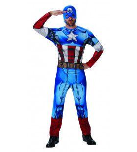 Captain America Marvel Universe Classic Man Kostuum