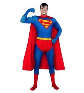 Lekker Sterk Second Skin Superheld Morphsuit Superman Kostuum