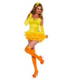 Tweety Lekker Hapje Voor De Poes Sylvester Vrouw Kostuum