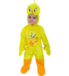 Tweety Klein Looney Tunes Vogeltje Romper Kind Kostuum