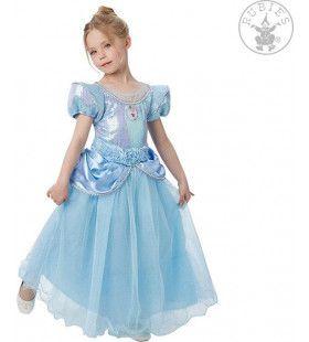Sprookjes Bestaan Wel Assepoester Blauw Meisje Kostuum