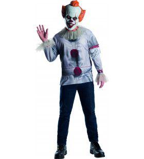 Pennywise De Dansende Enge Clown Man Kostuum